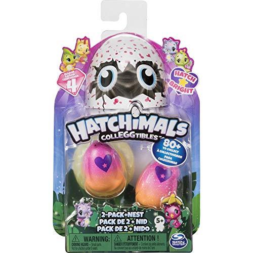 Hatchimals CollEGGtibles 2 Pack + Nest S4