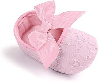 Estamico Baby Girls' Cotton Crib Shoes Sneaker