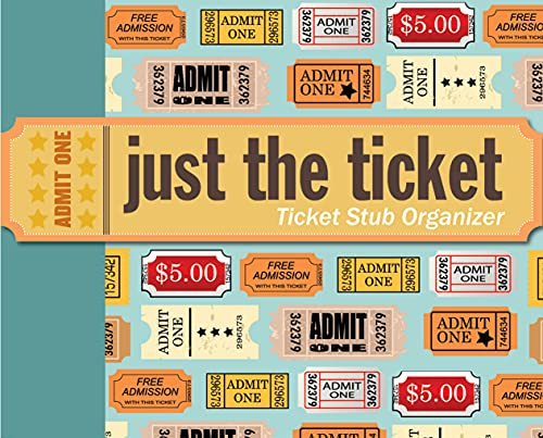 Ticket stub organizer gift ideas for the letter T