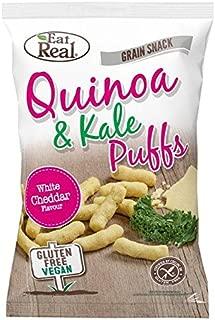 Eat Real Quinoa Kale Puffs Cheese Flavour 113g