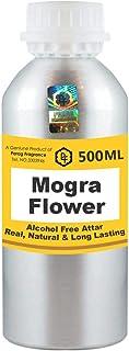 Parag Fragrances Mogra Flower Attar 500 ml Wholesale Pack Attar (Alcohol Free Long Lasting Attar for Men - Women & Religi...