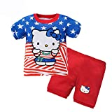 LinZX Pijama de bebé,Hello Kitty,6T