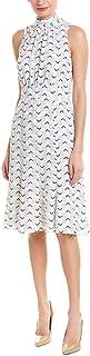 Donna Morgan womens Printed Mockneck Dress Dress