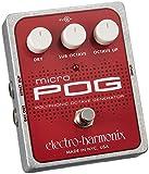 Electro Harmonix Micro POG Polyphonic Octave Generator Guitar Effects Pedal