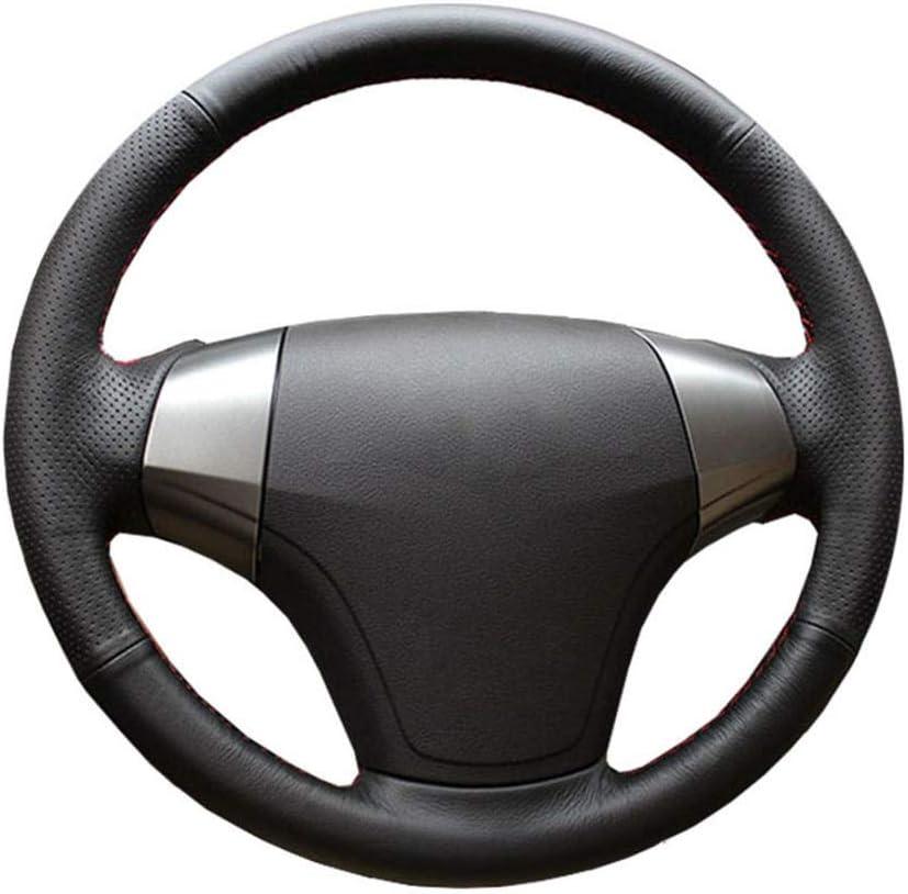 ZIMAwd Leather car Steering Wheel San Antonio Mall Elantra Fort Worth Mall 2008 for Braid Hyundai