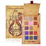 15 Colors Shimmer Matte Glitter Eyeshadow Makeup Palette Highly Pigmented Creamy Long Lasting Puple Blue Neutral Dramatic Eye Shadow Pallet Set