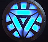 Gmasking Aluminum Man MK4 Wearable Led Arc Reactor 1:1 Replica