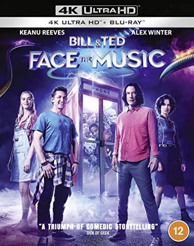 Bill & Ted Face The Music [4K Ultra HD] [2020] [Blu-ray] [Region Free]
