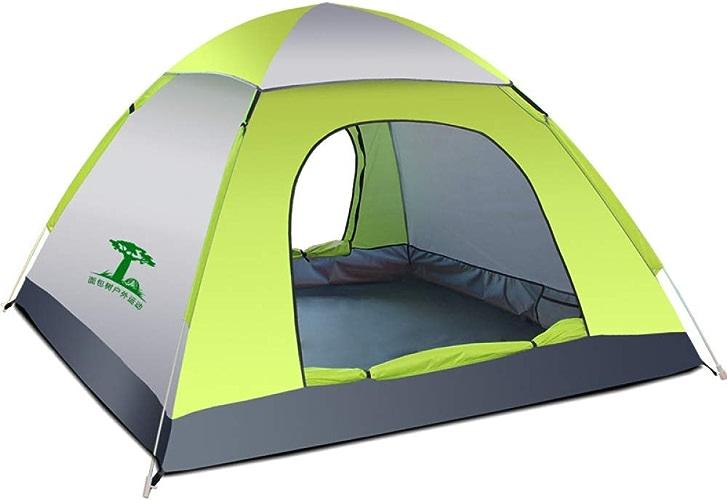 ZL9 Camping Pop-Up Tent, Prougeection UV Extérieure De Tente 3-4 Personnes Imperméable pour Le Camping Randonnée 200  200  120 Cm
