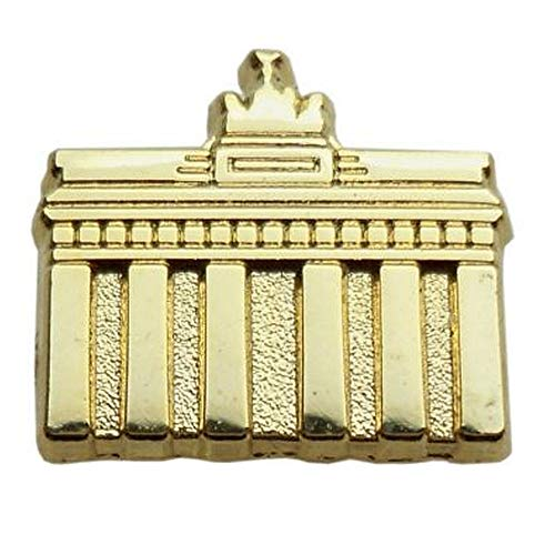 City Souvenir Shop Mini-Pin Brandenburger Tor, goldfarben, ca. 1,1 x 1 cm