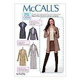 MCCALL 's Patrones de Costura para Chaleco y Cardigans, Multicolor,...