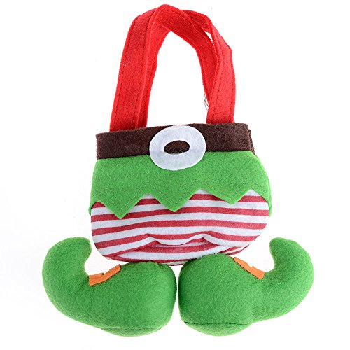 SSITG Elf Spirit laarzen broek Candy Bag zak kous vulpen Kerstman