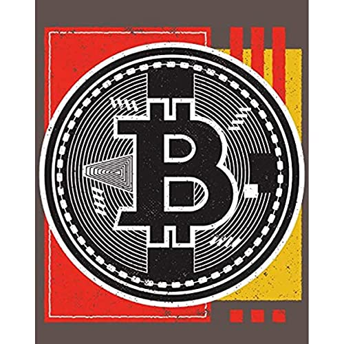 Katingad Puzzles For Adult Kids 1000 Piece Jigsaw Puzzle , Bitcoin Abstract Puzzle Amp Fun Fact Poster Amp Decompring Fun Family Game Toys Amp Games. 60x90cm Framed