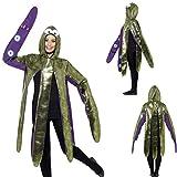 NET TOYS Oktopus Kostüm Tierkostüm Krake Unisex Karnevalskostüm Tintenfisch Faschingskostüm Sepie Fastnachtskostüm Octopus Mottoparty Unterwasserwelt