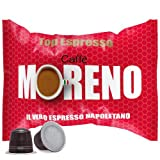 CAFFE' MORENO 100 CIALDE CAPSULE MISCELA TOP ESPRESSO COMPATIBILITA' NESPRESSO