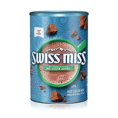 Swiss Miss Milk Chocolate Flavor Hot Cocoa Mix Canister