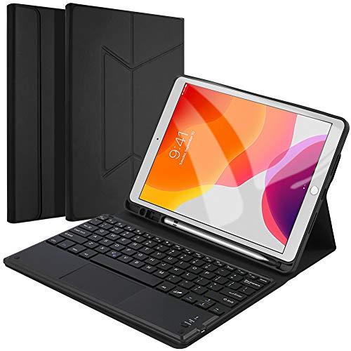 Wendapai Caja del Teclado para el iPad 10.2 2019 - Nos Desmontable...