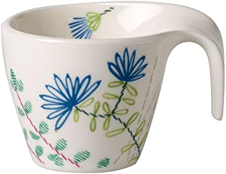Villeroy & Boch Flow Couture Tasse à expresso/moka, 100 ml, Porcelaine Premium, Blanc/Multicolore