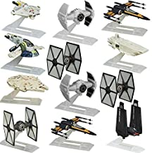 Star Wars (Set of 12 Black Series Titanium Spaceships Models Vehicles Hasbro Toys Figures