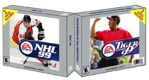NHL 99 / Tiger Woods 99 PGA Tour Golf (Jewel Case) (輸入版)