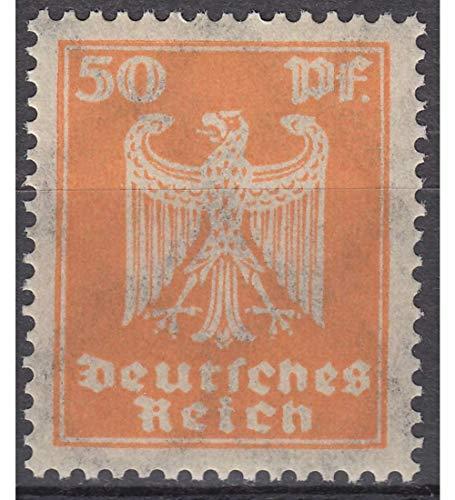 Goldhahn Deutsches Reich Nr. 361 postfrisch ** 50 Pfennig Reichsadler Briefmarken für Sammler