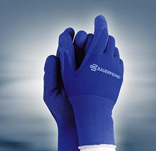 Handschuhe Blau Größe S