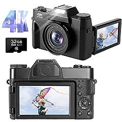 4K Fotoapparat 48MP 30FPS Full
