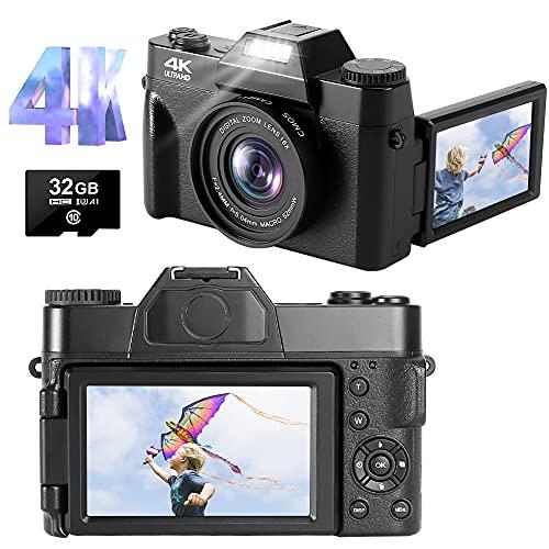 Lincom 4K Fotoapparat 48MP 30FPS Full Bild