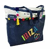 CASA TESSILE Shopping Bag Borsa Mare Ibiza