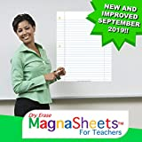 MagnaSheets (TM) for Teachers   Dry Erase Magnetic Notebook Paper for Classrooms   28 x 22 Inches   Abaco Brands, Inc USA