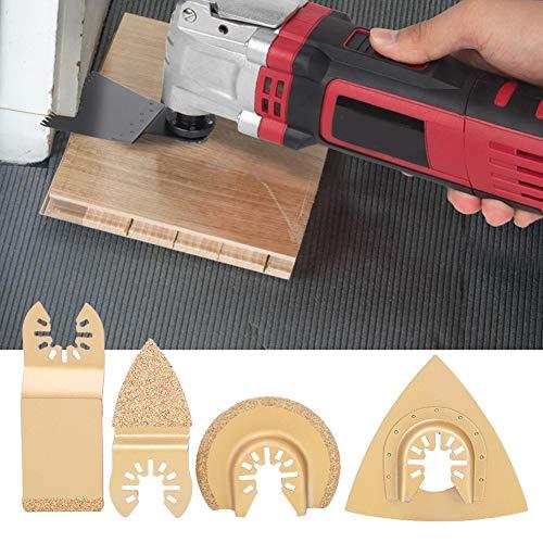 Hojas de multiherramienta, hojas de sierra oscilantes universales Kit de hojas de sierra universales para herramientas múltiples, duraderas para artesanos de madera