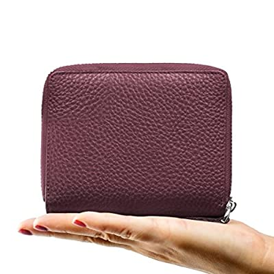 Privé RFID Blocking Women's Wallet - Luxury Geniune Leather Wallet - Identity Theft Protection and Credit Card Protector - Keep Credit Card Information Safe and Secure