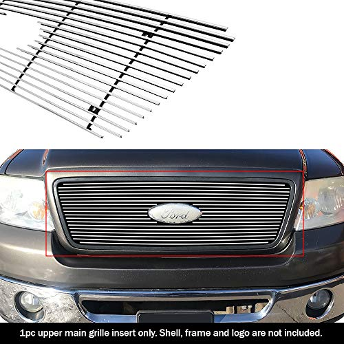 APS Compatible with 2004-2008 Ford F-150 Honeycomb Style Main Upper Billet Grille Grill Insert F65727A