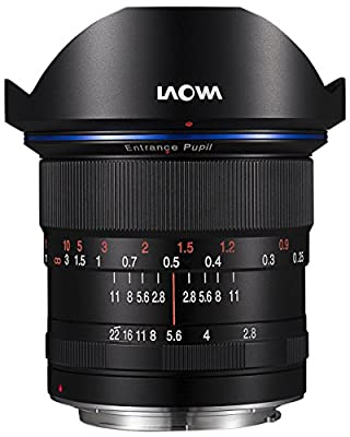 Laowa 12mm f/2.8 Zero-D Ultra-Wide Angle Lens (Canon EF Moun by Laowa