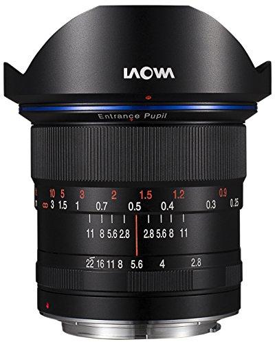 Laowa 12 mm f/2.8 zero-d Canon EF Systeemcamera, SLR Wide Lens Black - Camera Lens (Systeemcamera/SLR, Wide Lens, 16/10, 22-2.8, Manual, Canon EF)