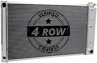 Primecooling 62MM 4 Row Core Aluminum Radiator for Chevy GMC C/K Series Truck Pickup 1966-80