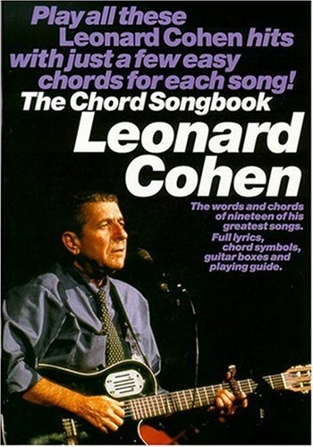 Partition : Cohen Leonard Chord Songbook