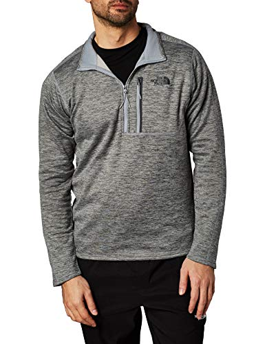The North Face Men's Canyonlands ½ Zip, TNF Medium Grey Heather, Medium