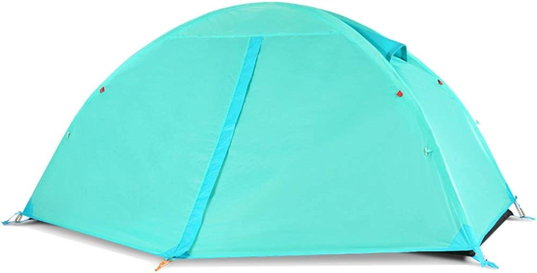 CHEXIAO Zelt Ultraleicht, Outdoor Camping Regendichtes Zelt, Großes Raumzelt Wandern B07QGF38ZY  Verwendet in der Haltbarkeit