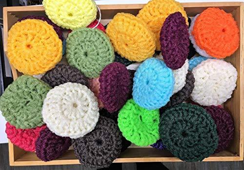 crochet scrubber - 8