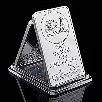 American Prospector 1OZ 999 Value Fine Silver Plated Bar US Union Coin Collectible
