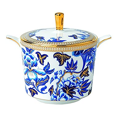 Wedgwood Hibiscus Sugar Bowl
