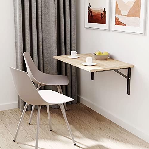 100 x 40 cm   Table murale pliante Table de cuisine bureau table enfant   Sonoma