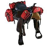 Trailmax 500 - Set completo de equipaje para silla vaquera de cowboy -...