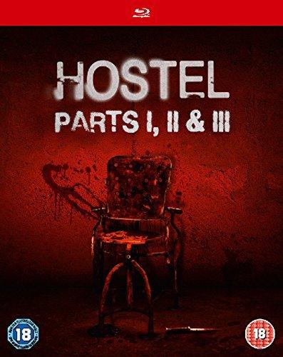 Hostel (2006) / Hostel: Part II / Hostel: Part III - Set [Reino Unido] [Blu-ray]