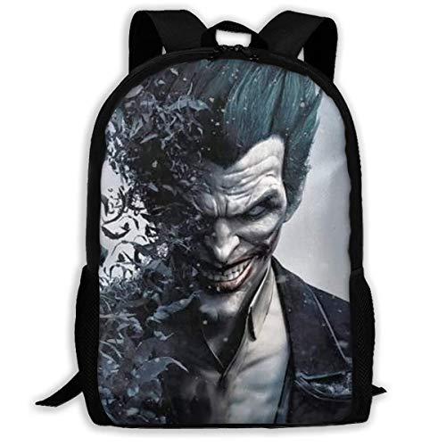 shenguang The Joker Adult Travel Backpack Fits 15.6 Inch Laptop Backpacks School College Bag Casual Rucksack for Men & Women