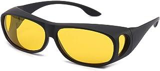 نظارات شمسية عالية الدقة ليوم القيادة والدوران الوصفات الطبية المضادة للوهج مع عدسة مستقطبة للرجال والنساء