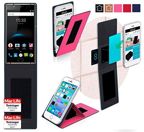 Hülle für Oukitel K3 Tasche Cover Hülle Bumper | Pink | Testsieger