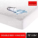 Mattress Protector Waterproof Bed Protector Mattress Topper for King Size