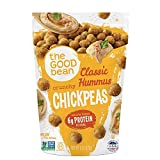 The Good Bean Chickpea Snacks,Gluten Free, Hummus, 6 Count